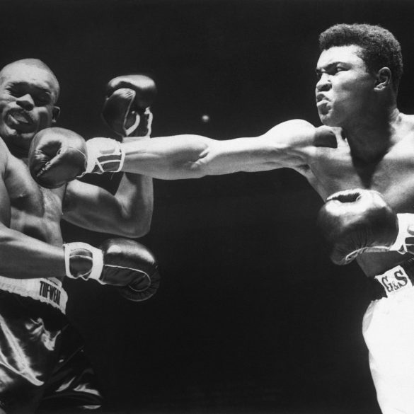 New York, 13 marzo 1963. Match contro Doug Jones. Bettmnann/Getty Images