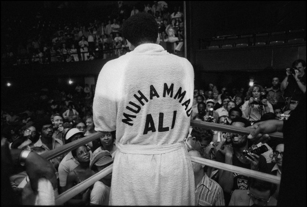 New Orleans, settembre 1978: incontro con stampa e tifosi prima del match contro Leo Spinks che darà a Muhammad Ali il titolo mondiale per la terza volta. Chuck Fishman/Getty Images