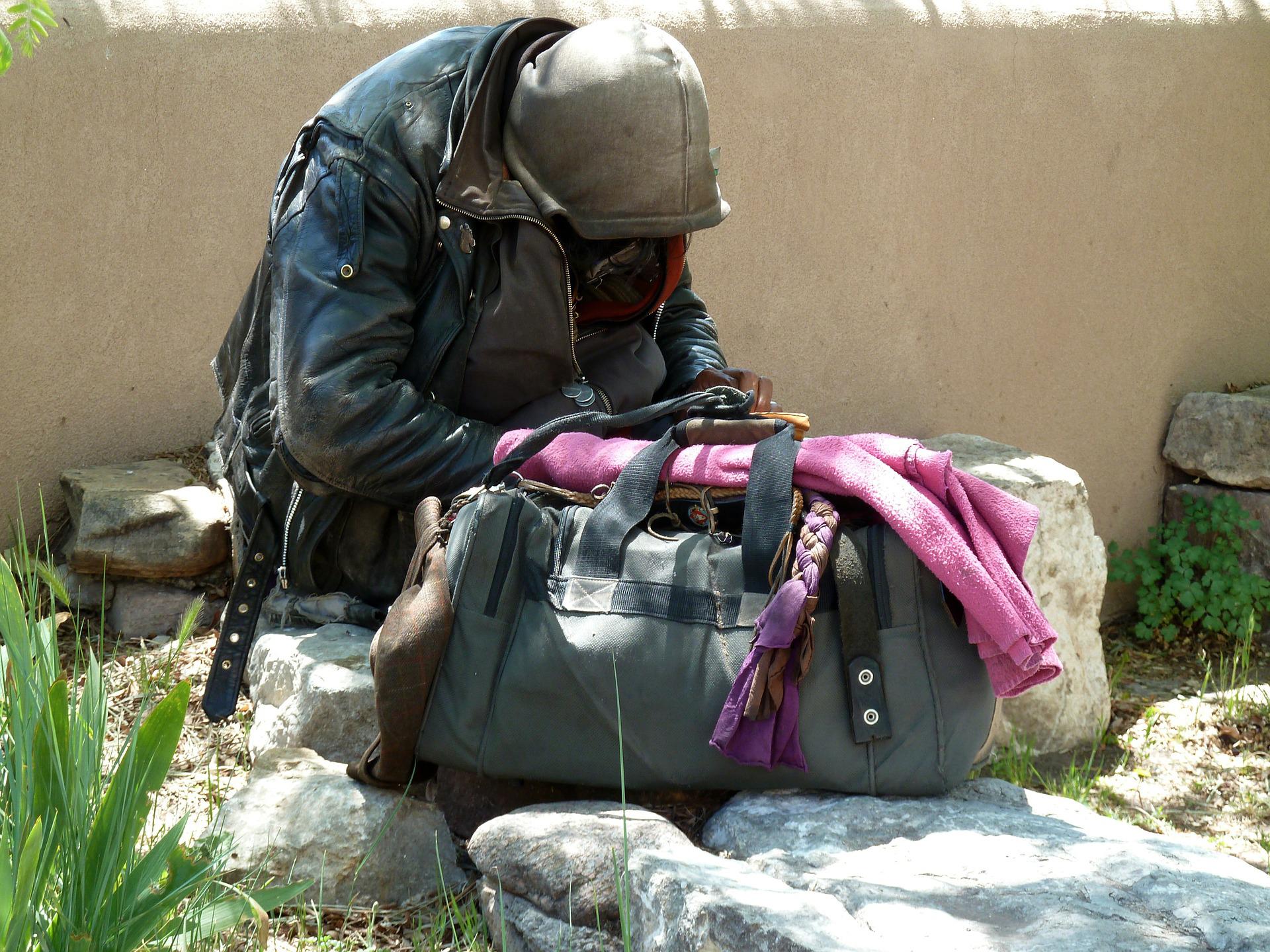 Pubblicare fotografie di mendicanti