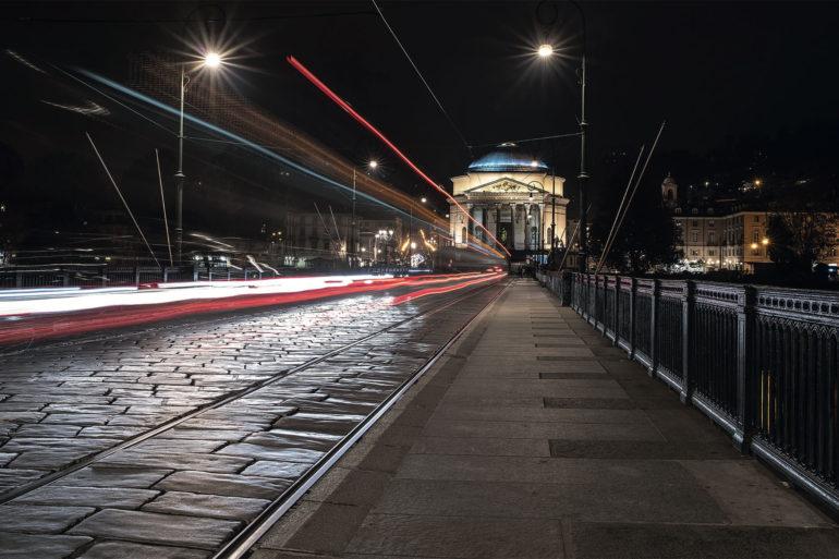 Fotografare di notte